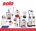 Solo ---Sprayers, Saws, Trimmers, Air Blowers