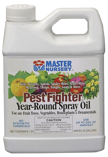 Master Nursery Pest Fighter Year Round Spray Oil Qty